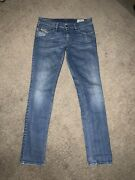 Diesel Industry Ivey Super Slim Straight Blue Jeans Size Menand039s 30x32