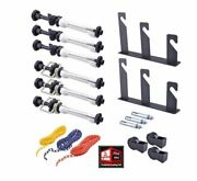 New, Neewer Photography 3 Roller Wall Mounting Manual Background Support System
