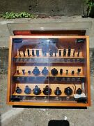 Craftsman 30pc. Carbide Tipped Router Bit Set 1/4 Shank In Wooden Display Case