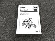 Ford New Holland Series 830 1130 Rider Mower Tractor Shop Service Repair Manual