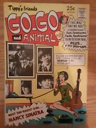 Tippyand039s Friends Go-go And Animal 8 1960s Beatles Cover Front And Back