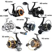 Dr.fish Spinning Reels All Models Heavy Duty Saltwater Bass Fishing Big Game