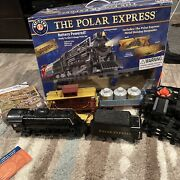 Lionel The Polar Express 7-11556 Rare Model With Hot Cocoa Car Works Great