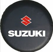 15 Inch New Car Spare Wheel Tire Covers For Suzuki Logo Black Spare Tyre Cover