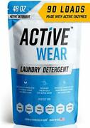 Active Wear Laundry Detergent - Formulated For Sweat And Workout Clothes - Na...
