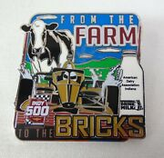 Aug. 23 2020 Indianapolis 500 Winners Drink Milk Dairy Association Collector Pin