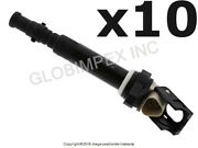 Bmw M5 M6 2006-2010 Ignition Coil With Spark Plug Connector Set Of 10 Bremi