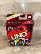Harry Potter Uno Card Game Mattel 2005 Collectible