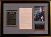 William H. Taft - Presidential Proclamation Signed 11/07/1912