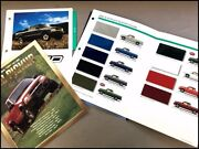 2001 Chevrolet S-10 Truck Brochure Guide And Paint And Fabric Samples - Xtreme