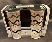 Vintage Crisa By Libbey - Clearly Glassware 16 Oz - Nos