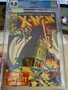 X-men 64 Cgc 9.0 White Pages Htf 1st App Of Sunfire Mcu Spec Key Issue