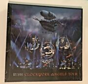 Rush Clockwork Angels Tour Dvd Limited Edition Deluxe 115/5000 Sealed