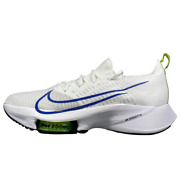 Nike Air Zoom Tempo Next Flyknit Fk White Racer Blue Volt Ci9923 103 Size 9 10