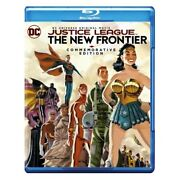 Justice League The New Frontier Blu-ray, 2017 Commemorative Edition