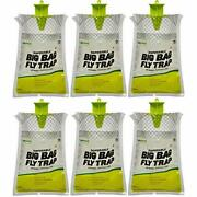 Rescue Big Bag Fly Trap Andndash Disposable Outdoor Use - 6 Traps