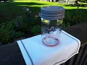 Crown 1 Pint Vintage Mason Jar 1948. Home Perserving Caning Pickling