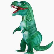 Inflatable Dinosaur Costume Blow Up T-rex Costumes For Adultsfancy Dino Ones...