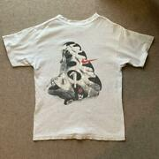 Vintage 90and039s Sneakers Basketball Shoes Print Nike Tee T Shirt Size M Made In Usa