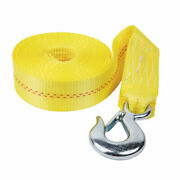 Fulton Ws20hd0600 2 X 20and039 Heavy Duty Winch Strap And Hook - 4000 Lbs. Max Load