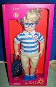 Our Generation Leo 18 Boy Doll With School Bag New