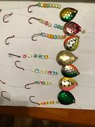 Colorado 5 Lake Erie Walleye Worm Spinners 7 Harnesses Fishing Lures
