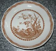 Furnivals Brown Quail 1913 6 Saucer Made In England 684771