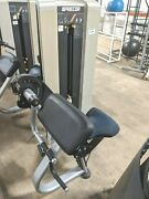 Precor C-line Bicep Curl Commercial Gym Exercise Weight Stack Arm Machine
