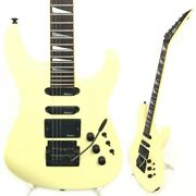 Vintage Charvel Model Pearl White Initial Made In Japan 1986 1987 Make