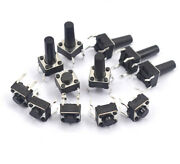 Pcb Momentary Tactile Tact Push Button Switch 4 Pin Dip Micro Mini 6mm X 6mm