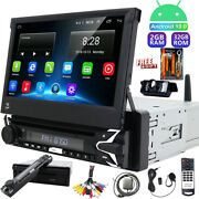 2+32gb Single 1 Din Car Stereo Radio Android 10 Gps Aux Head Unit Dvd Player Ccd