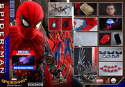 Dhl 1/4 Hot Toys Qs015b Spider-man Homecoming Deluxe Ver Exclusive Edition