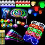 88 Pcs Led Light Up Toys Party Favors Glow In The Dark Party Supplies For
