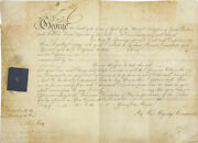 King George Iv Great Britain - Document Signed 12/1823
