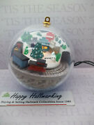 Hallmark 1988 Country Express Light And Motion Ornament Magic Train Nb
