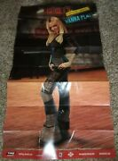 Giant Rare Britney Spears Dance Beat Wanna Play Authentic Huge Poster Only Ln