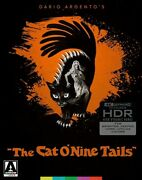 The Cat Oand039nine Tails 4k Ultra Hd Uhd Limited Edition Arrow Video Dario Argento
