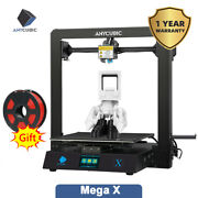 Anycubic Mega X 3d Printer 300300305mm Diy Kit Ultrabase Hotbed Meanwell Power