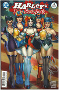 Harley Quinn Harleyand039s Little Black Book 5 Signed Billy Tucci Variant Cover Art