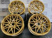 20 Brand New Alloy Wheels Fits Bmw Gold