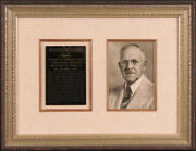 Ransom E. Olds - Autographed Signed Photograph