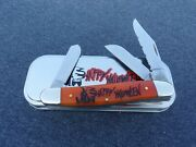 Case Xx A 2018 Halloween Persimmon Orange Ade Only 47 Stockman Knife Knives