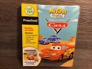 New Leapfrog My First Leap Pad - Disney Pixar Cars Interactive Book And Cartridge