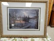 Jesse Barnes Holiday Homecoming Framed And Matted Limited Edition Print1786/3500