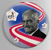 6 Barry Goldwater Picture 4bg Pinback Button Pin