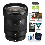 Sony E 16-55mm F/2.8 G Lens With Software Suite And Accessory Bundle
