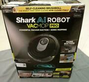 Shark Ai Robot Vacmop Pro R201wd With Wi‐fi Sonic Mopping Alexa And Google R2001wd