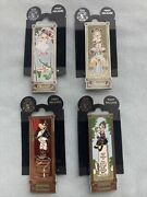 Disney 2009 Haunted Mansion-stretching Room Pins 1st Release Mickey Minnie
