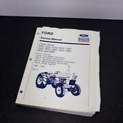Ford Service Manual Tractor 2000 3000 4000 5000 7000 1965-75 Volume 2 Good Shape