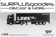 Tsm Model Mini-gt 2021 Overseas Ed Mercedes-benz Actros W/40 Ft Container Lbwk